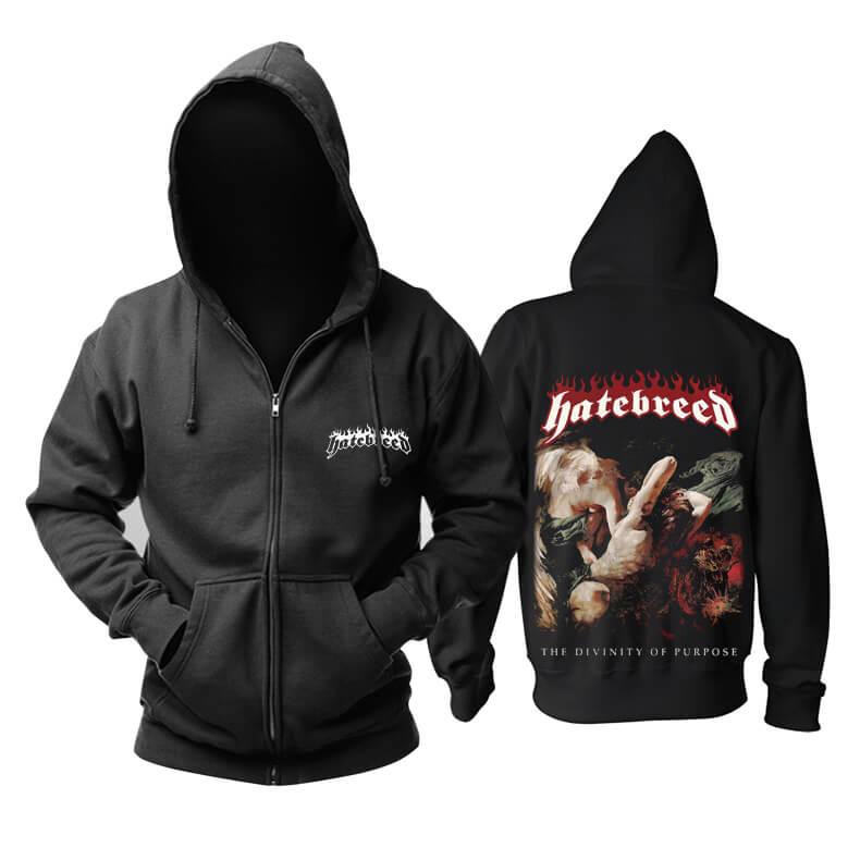 Unique Hatebreed Hoodie Us Hard Rock Metal Punk Rock Band Sweatshirts