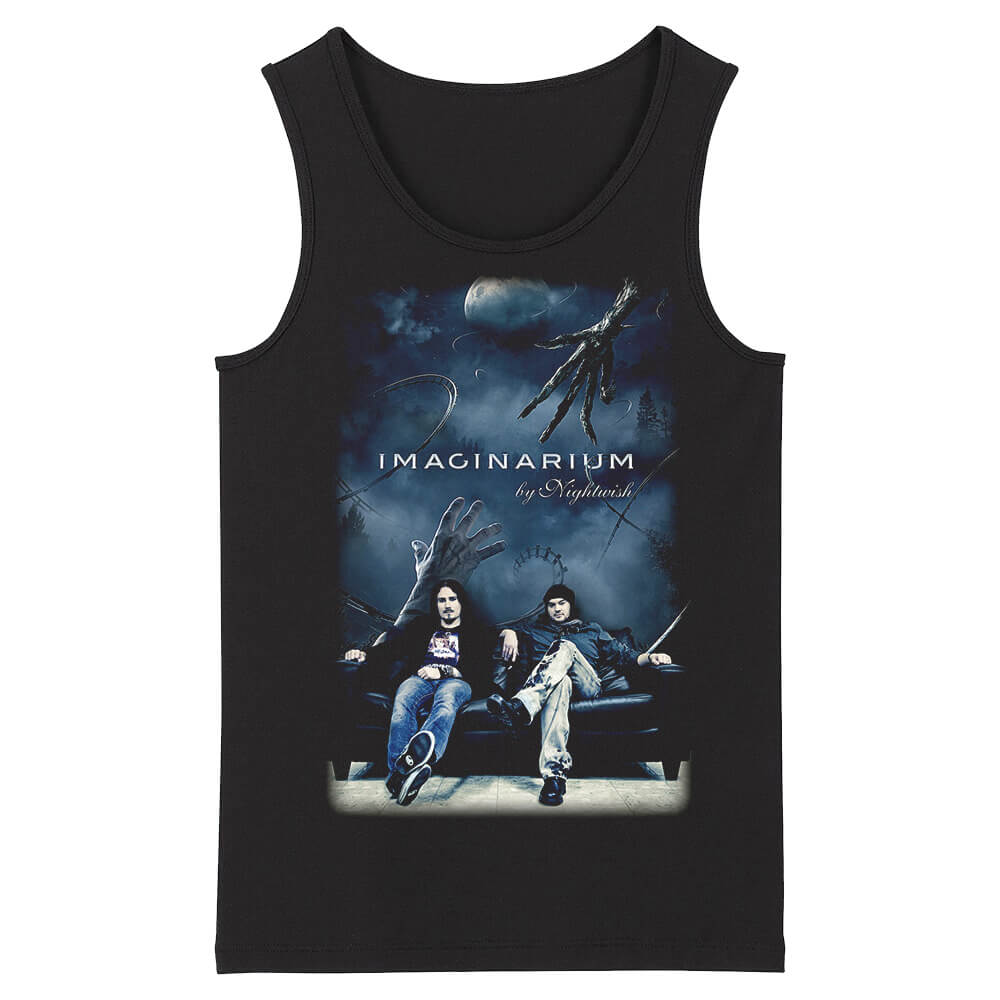 Unique Nightwish Sleeveless Tshirts Finland Hard Rock Tank Tops