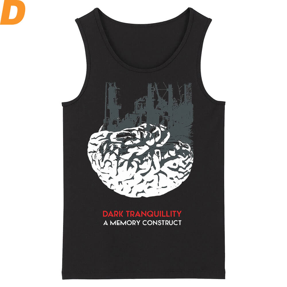 Unique Sweden Dark Tranquillity Tank Tops Metal Rock Sleeveless Graphic Tees