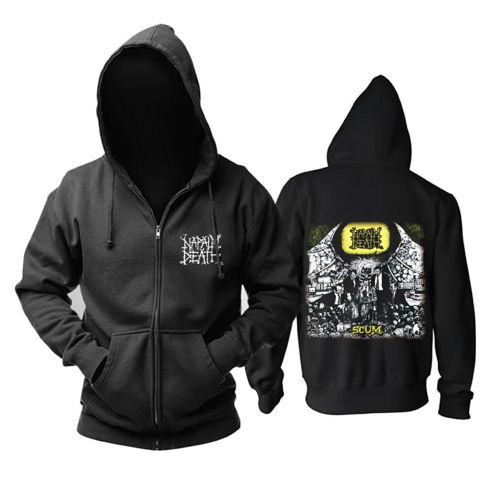 Unique Uk Napalm Death Hoodie Metal Music Sweat Shirt