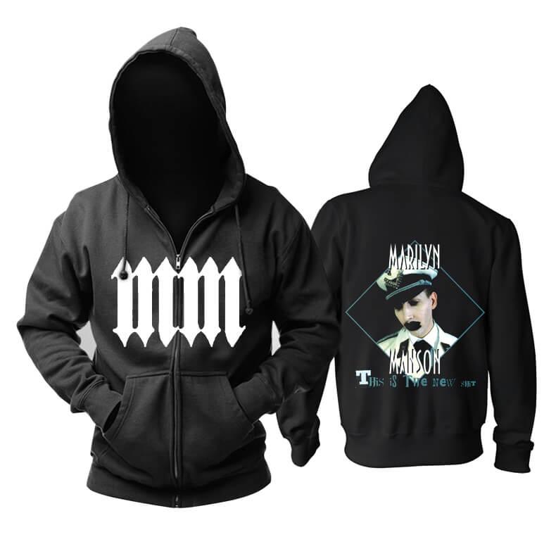 Unique Us Marilyn Manson Hoodie Metal Rock Sweat Shirt