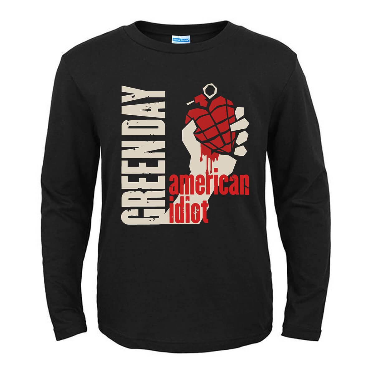Green Day Punk Rock Band Graphic T-Shirts