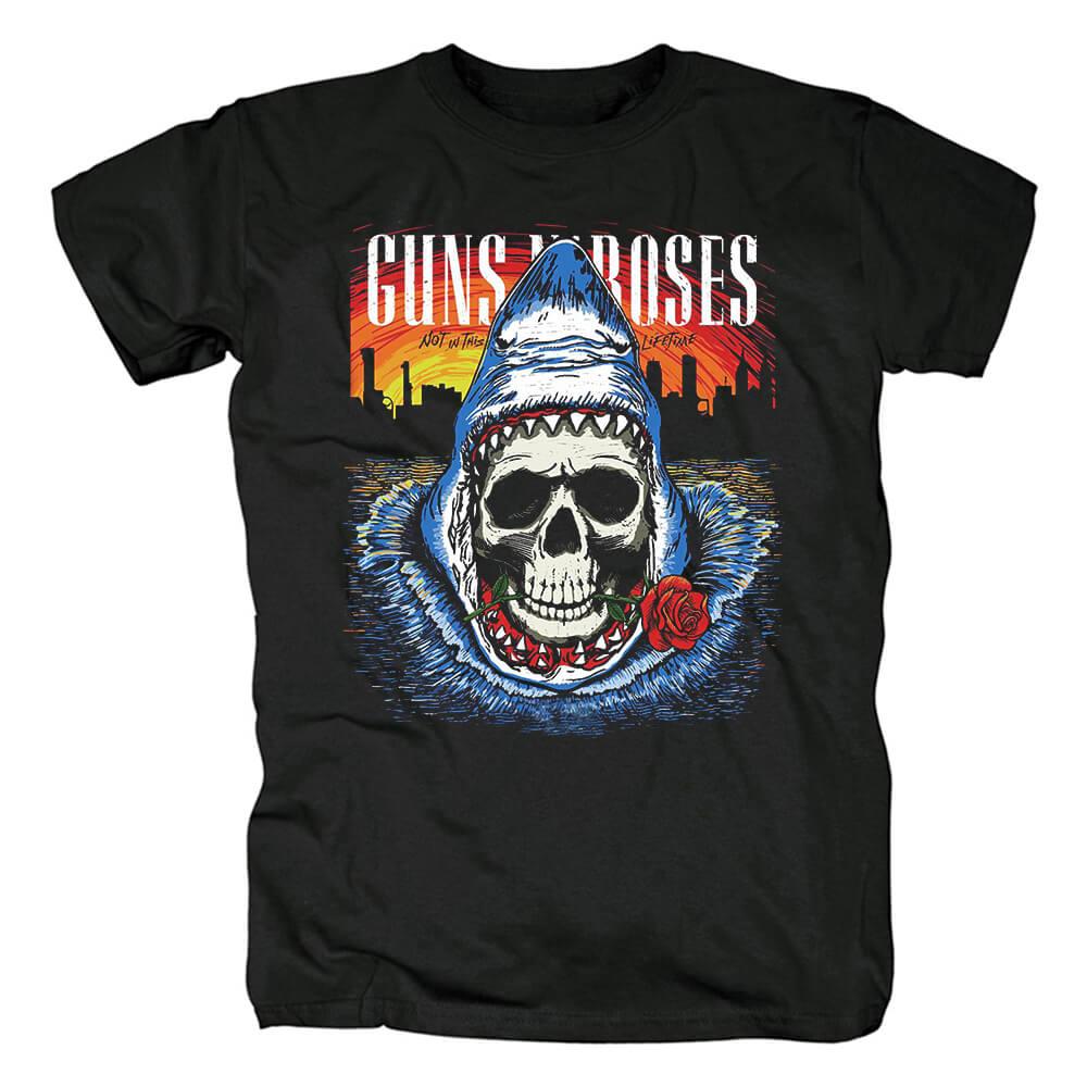 Us Guns N' Roses Band T-Shirt Punk Rock Shirts