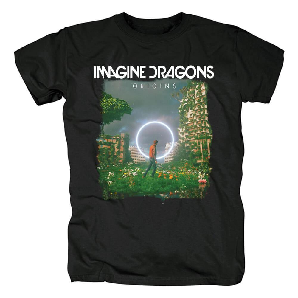Us Imagine Dragons Origins T-Shirt Rock Band Graphic Tees