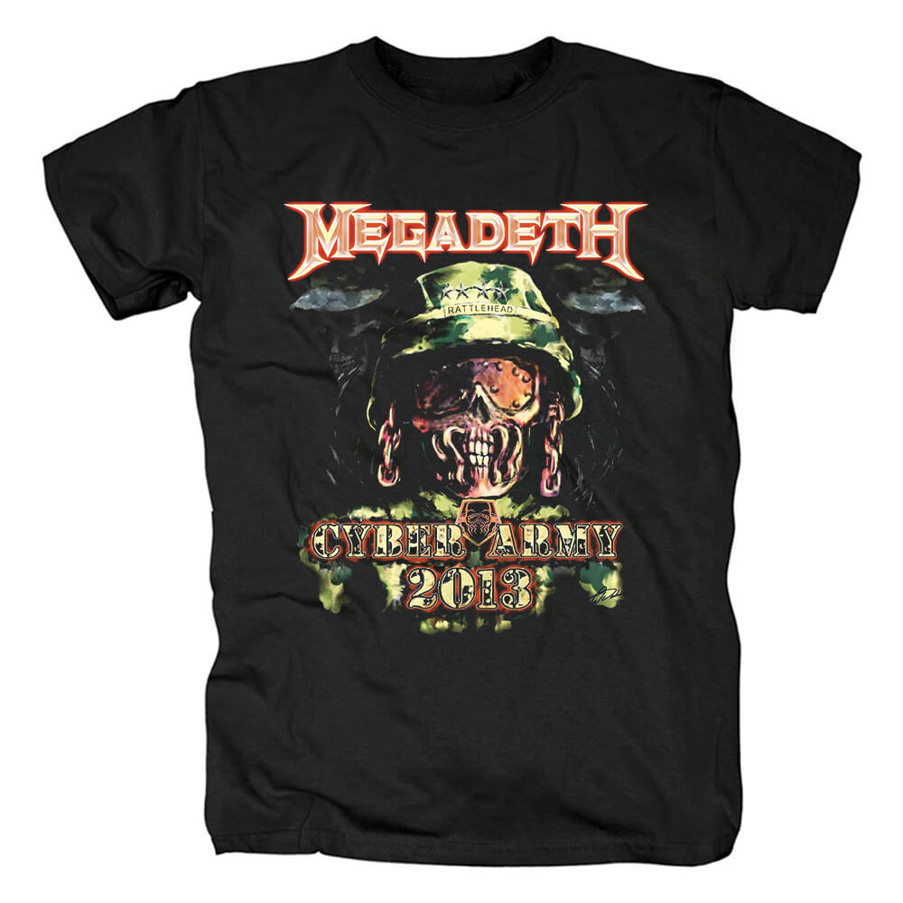 Us Metal Graphic Tees Megadeth The System Has Failed T-Shirt