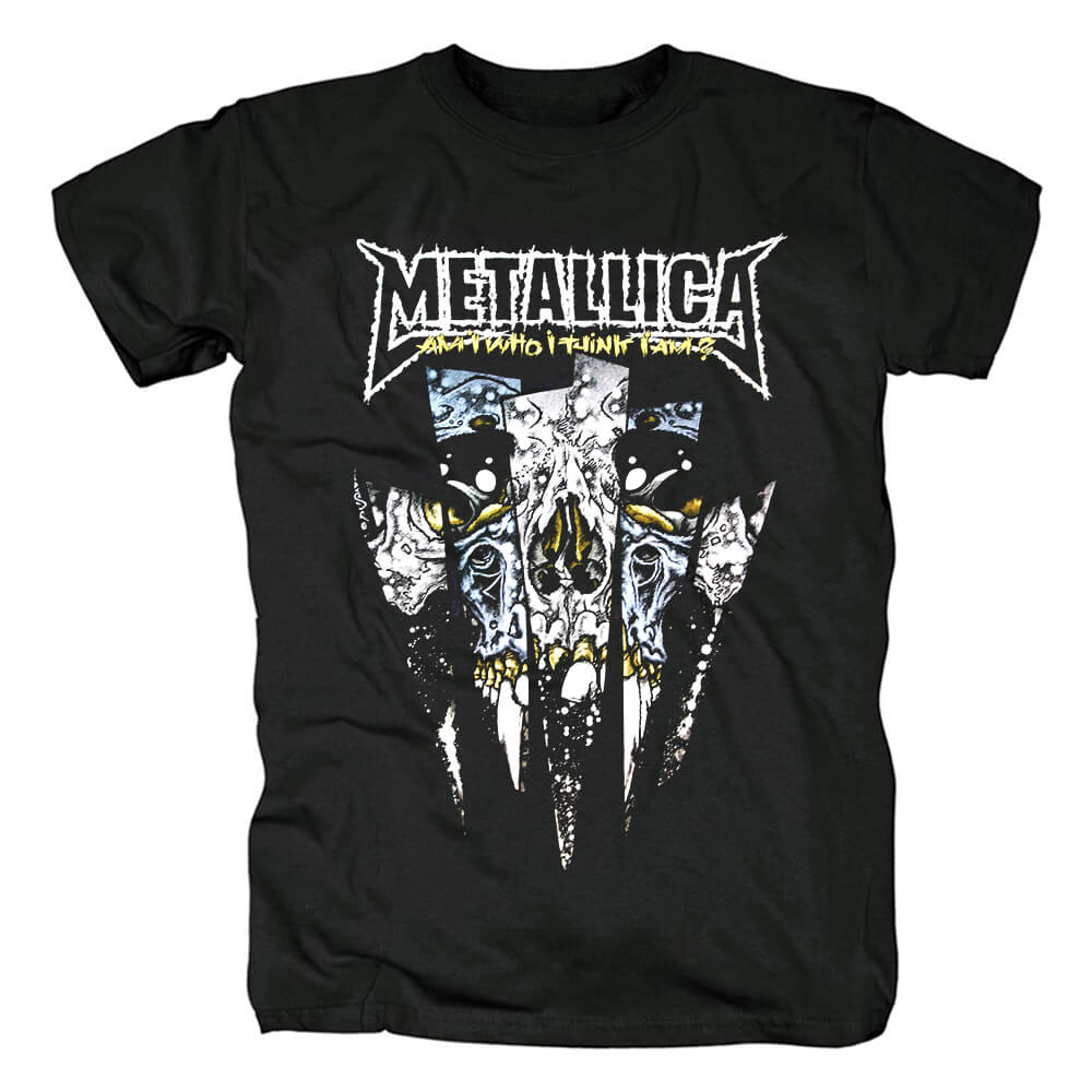 Us Metal Rock Graphic Tees Metallica Band T-Shirt