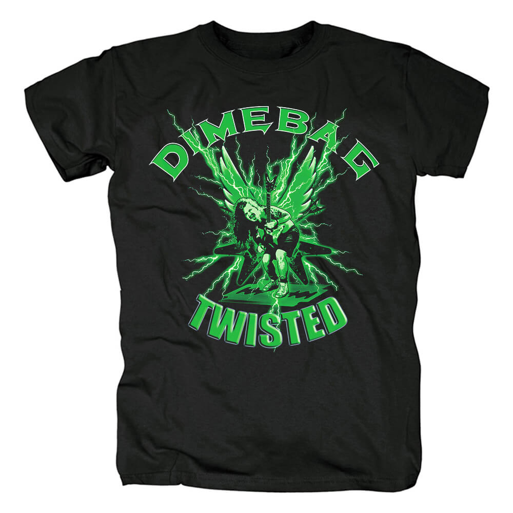 Us Pantera Dimebag Darrell T-Shirt Metal Graphic Tees