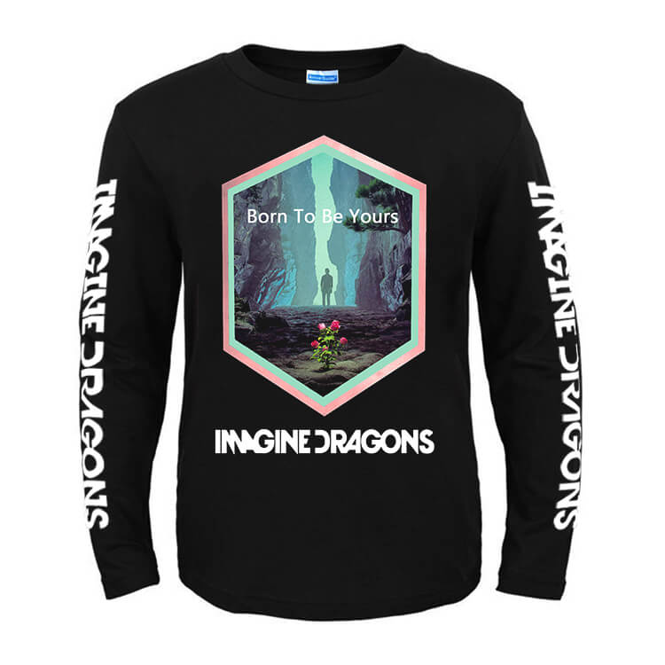 Us Rock Tees Imagine Dragons Born To Be You T-Shirt