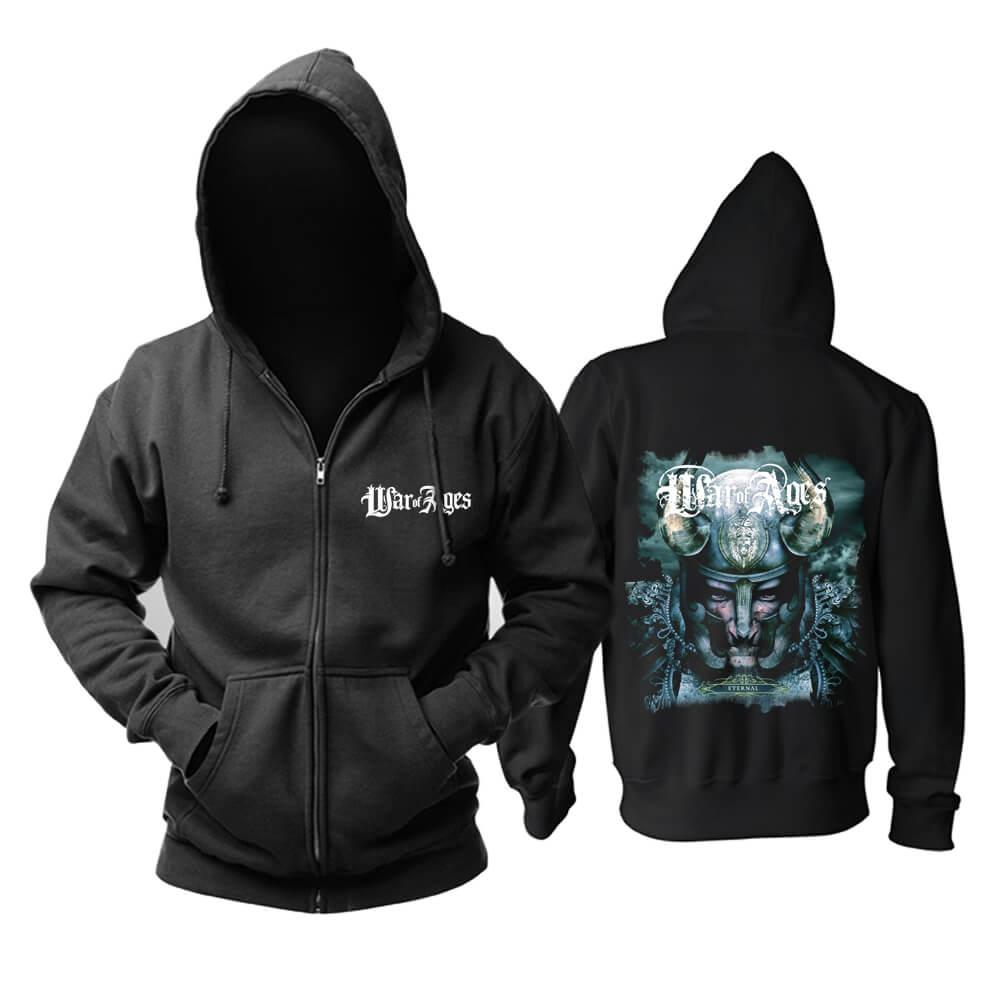 Us War Of Ages Eternal Hoodie Metal Punk Rock Band Sweat Shirt