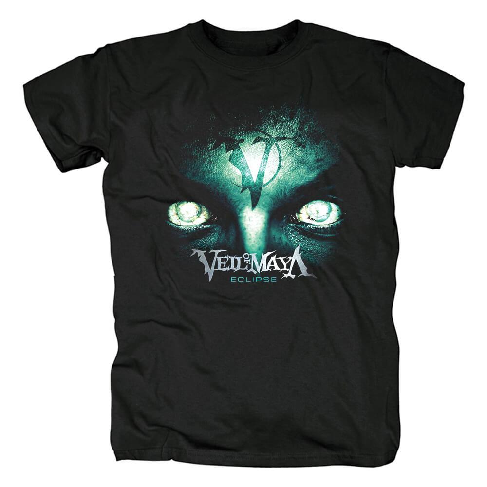 Veil Of Maya Eclipse Cover T-Shirt Hard Rock Graphic Tees