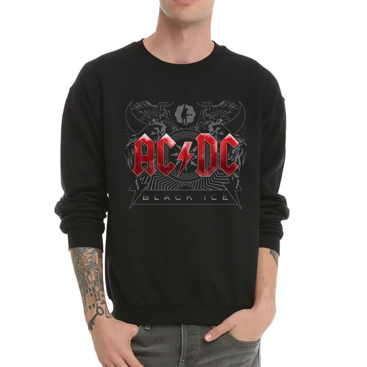 Vintage AC DC Band Sweatshirt for Youth
