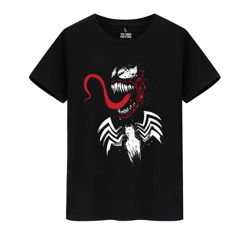 Cotton Shirt Marvel Superhero Venom Tshirts