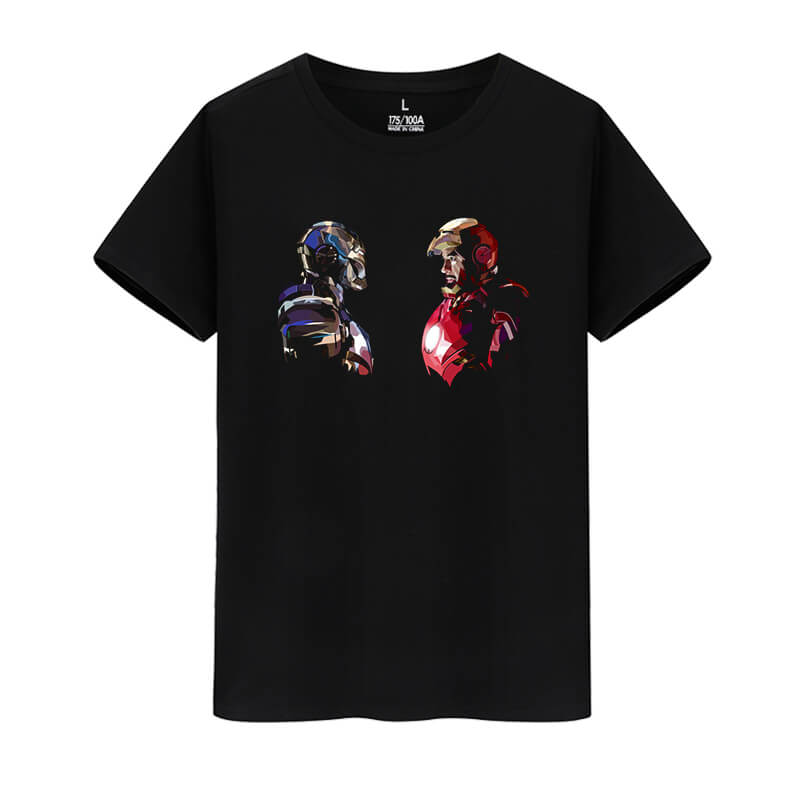 Marvel Hero Iron Man Shirt The Avengers Tee Shirt