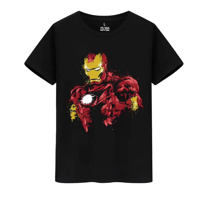 Iron Man T-Shirt Marvel The Avengers Tee