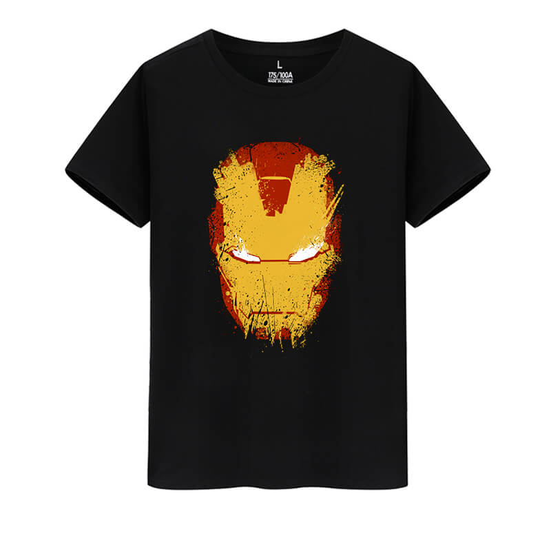 Marvel Hero Iron Man Tee Avengers Tshirt