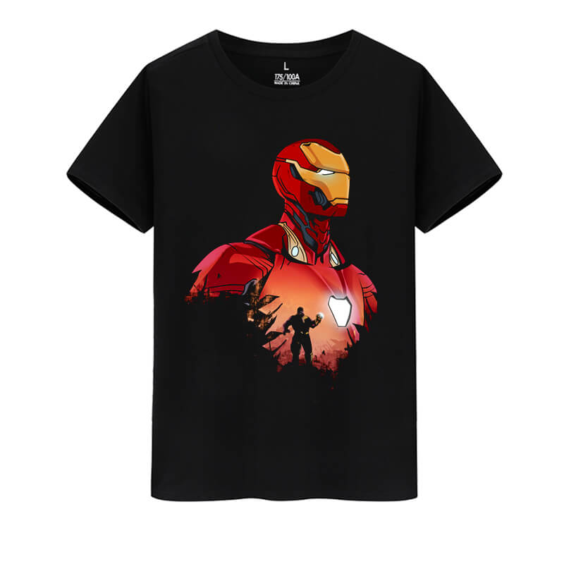 The Avengers Tshirt Marvel Superhero Iron Man Shirts