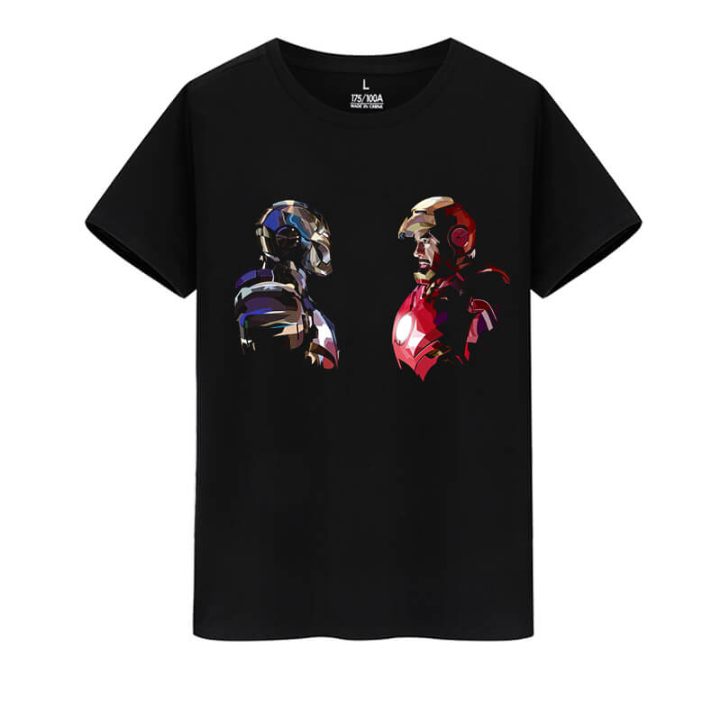 Iron Man Tee Shirt Marvel Avengers Shirts