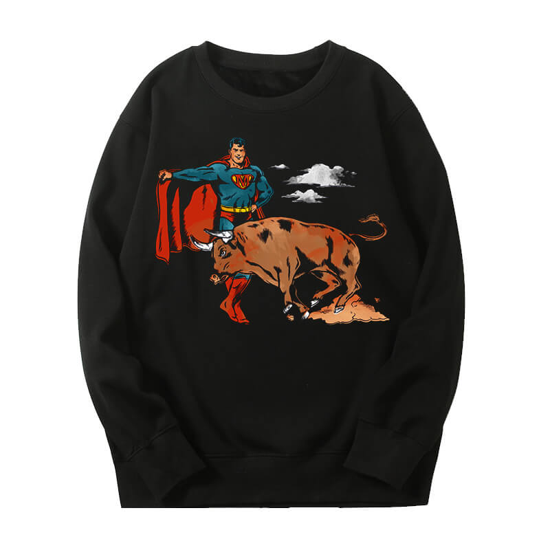 Marvel Superman Sweater Personalised Sweatshirts