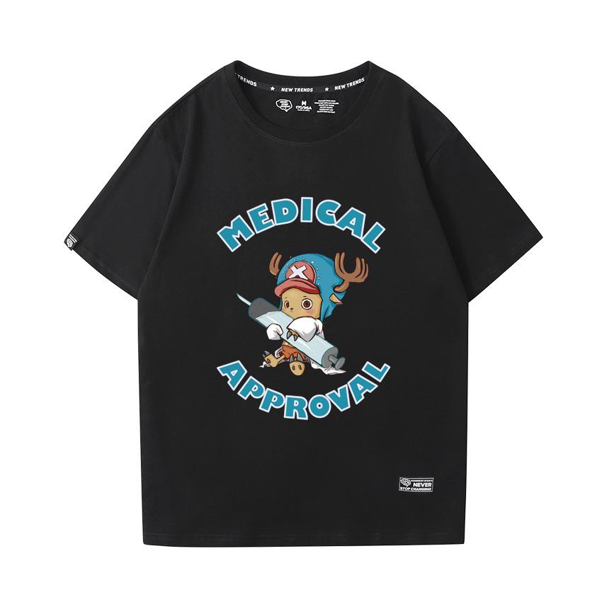 Anime One Piece Shirts Cotton Tee Shirt