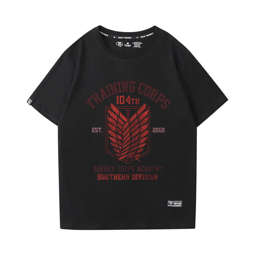 Attack on Titan T-Shirt Hot Topic Anime Tee