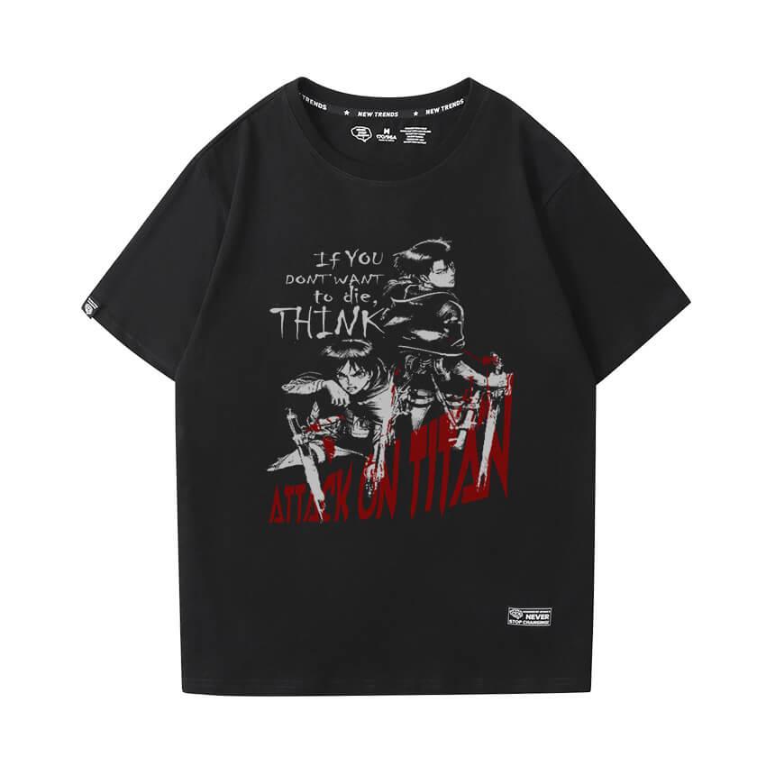 Attack on Titan Shirt Vintage Anime Tshirt