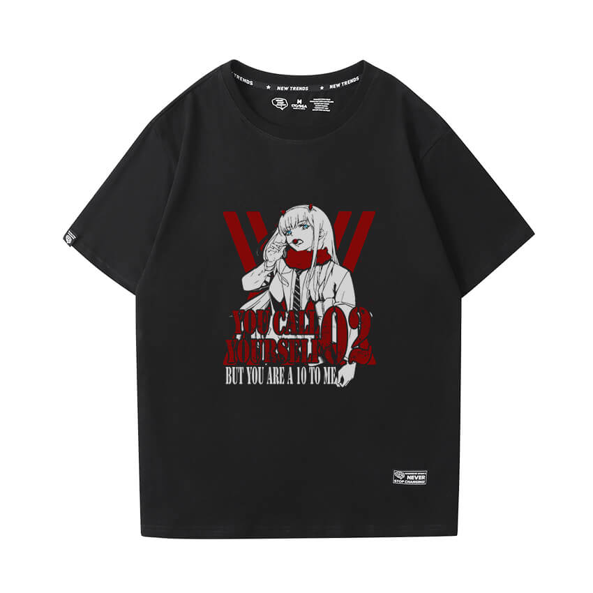 Darling In The Franxx Tshirt Hot Topic Anime Shirt