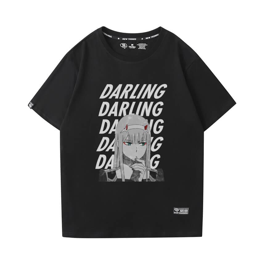 Vintage Anime Tshirts Darling In The Franxx Tee Shirt
