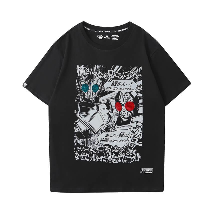 Hot Topic Anime Tshirt Masked Rider T-Shirt