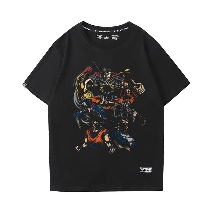 One Punch Man T-shirt Vintage Anime Tee
