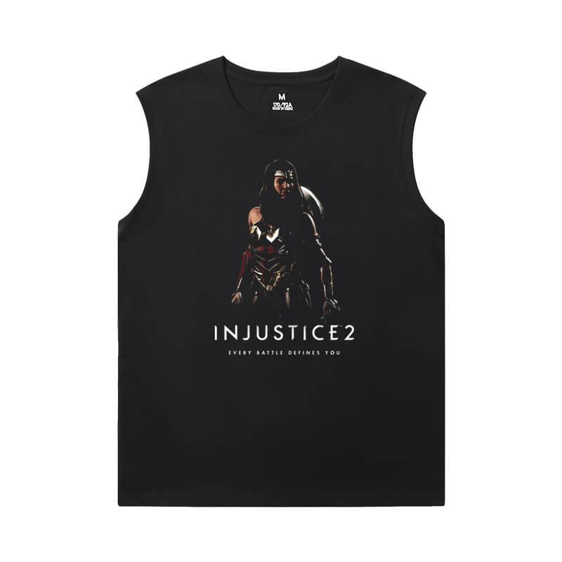 Marvel Shirts Justice League Batman Mens Sleeveless Sports T Shirts