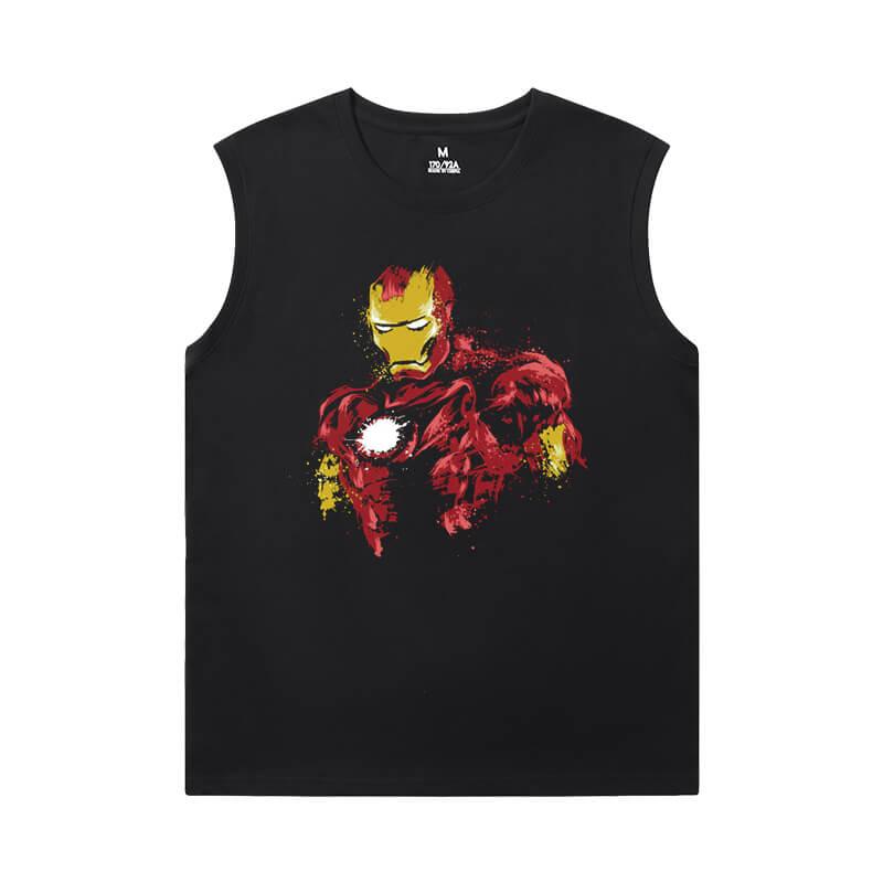 Iron Man Oversized Sleeveless T Shirt Marvel The Avengers Shirt