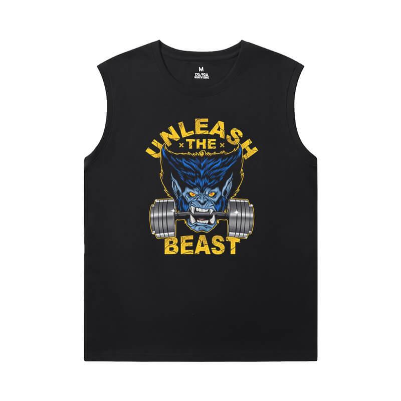 Wolverine Tees Marvel Dark Phoenix X-Men Cool Sleeveless T Shirts