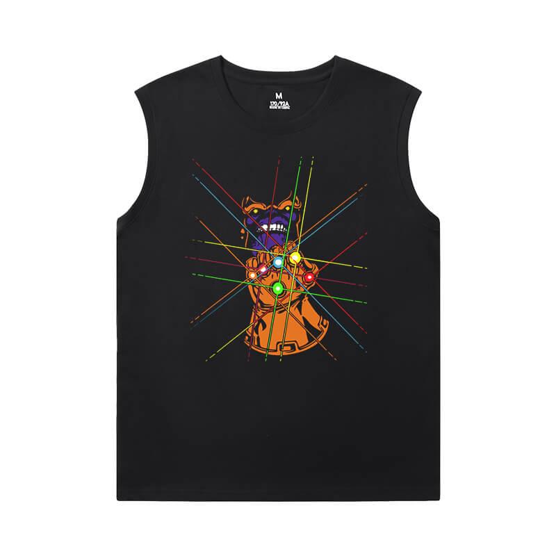 Thanos Full Sleeveless T Shirt Marvel The Avengers Tees