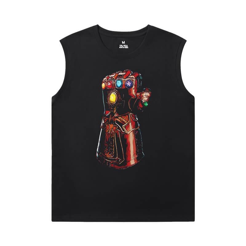 The Avengers Shirts Marvel Thanos Oversized Sleeveless T Shirt