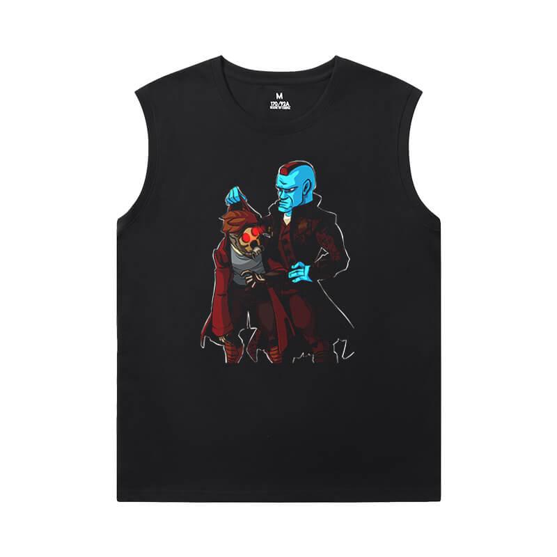 Groot Tshirt Marvel Guardians of the Galaxy Mens Sleeveless Tshirt