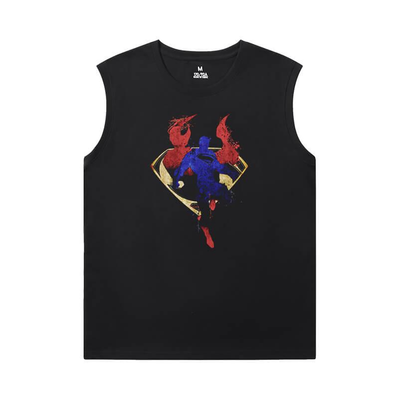 Superman Shirt Justice League Marvel Men'S Sleeveless Graphic T Shirts