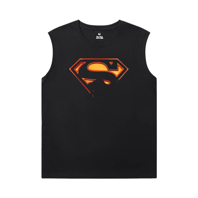 Marvel Tshirt Justice League Superman Basketball Sleeveless T Shirt
