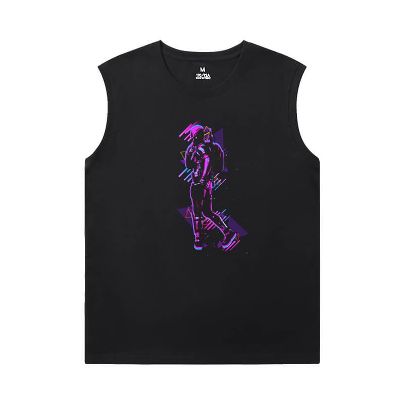 Shirts Marvel Deadpool Sports Sleeveless T Shirts