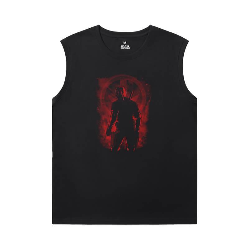 Tshirts Marvel Deadpool Sleeveless T Shirt