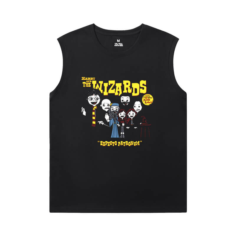 Personalised Shirts Harry Potter Mens Sleeveless T Shirts