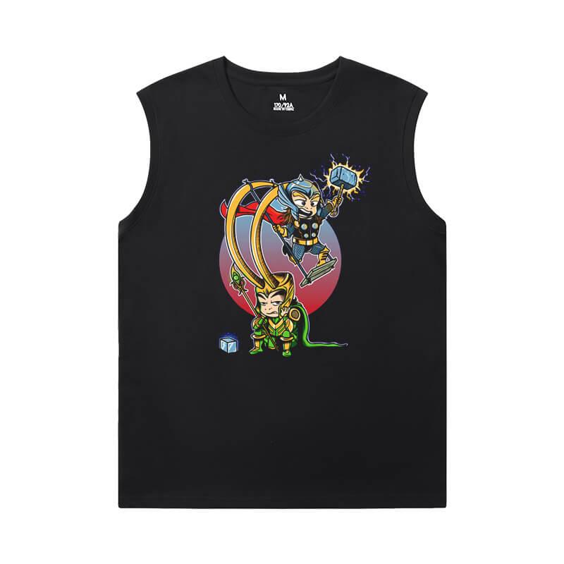 Marvel Thor T-Shirt The Avengers Sleeveless Tshirt