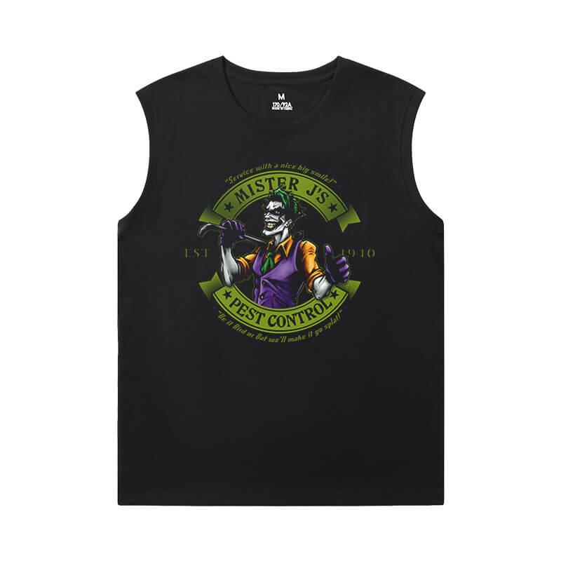 Marvel Tshirt Batman Joker Mens Sleeveless T Shirts