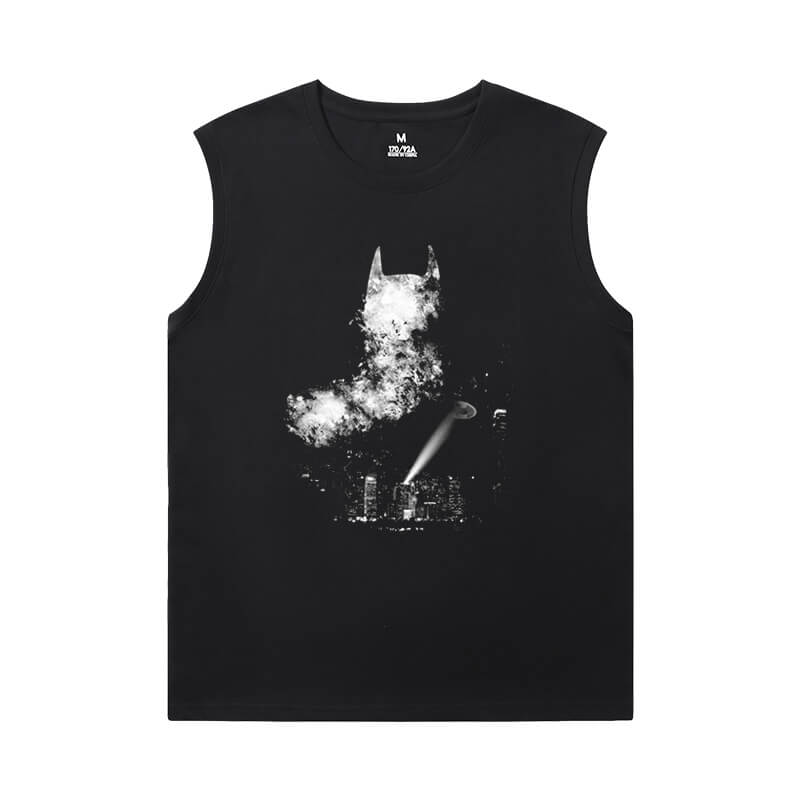 Batman T-Shirts Justice League Superhero Custom Sleeveless Shirts