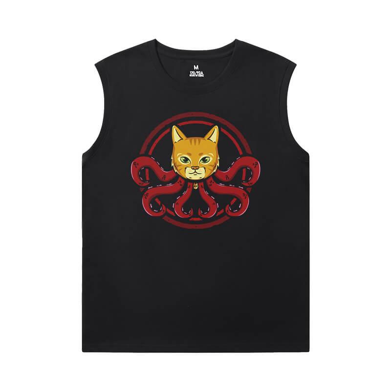 Captain Marvel Cheap Mens Sleeveless T Shirts Marvel The Avengers Shirt