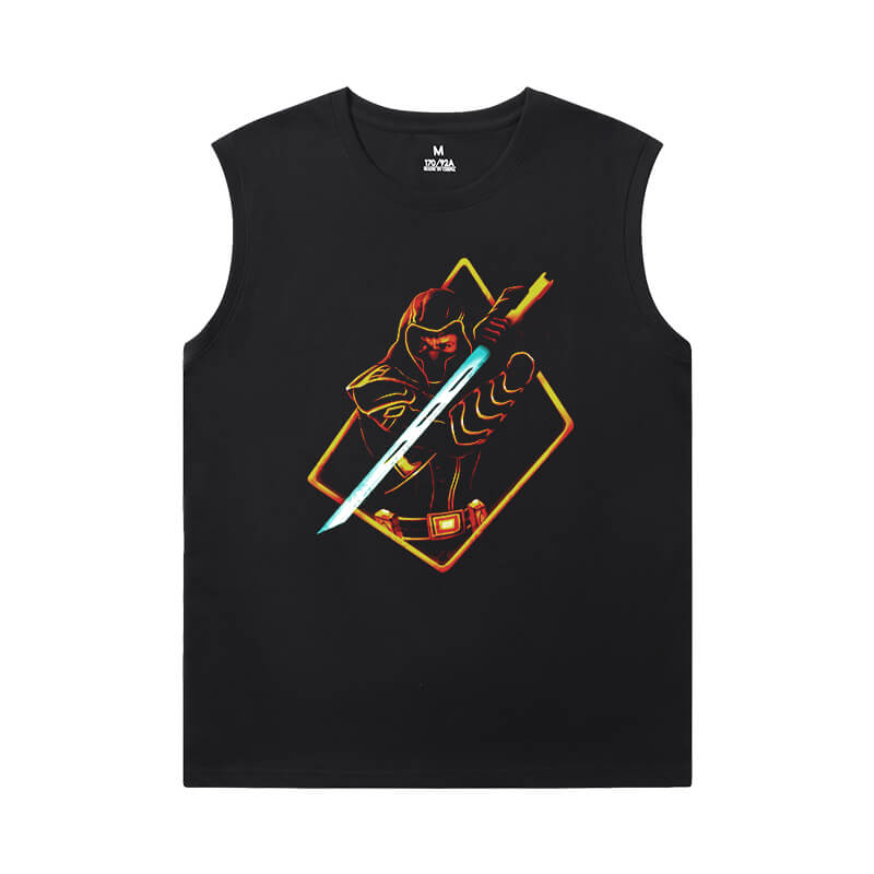 The Avengers Tshirts Marvel Hawkeye Mens Designer Sleeveless T Shirts