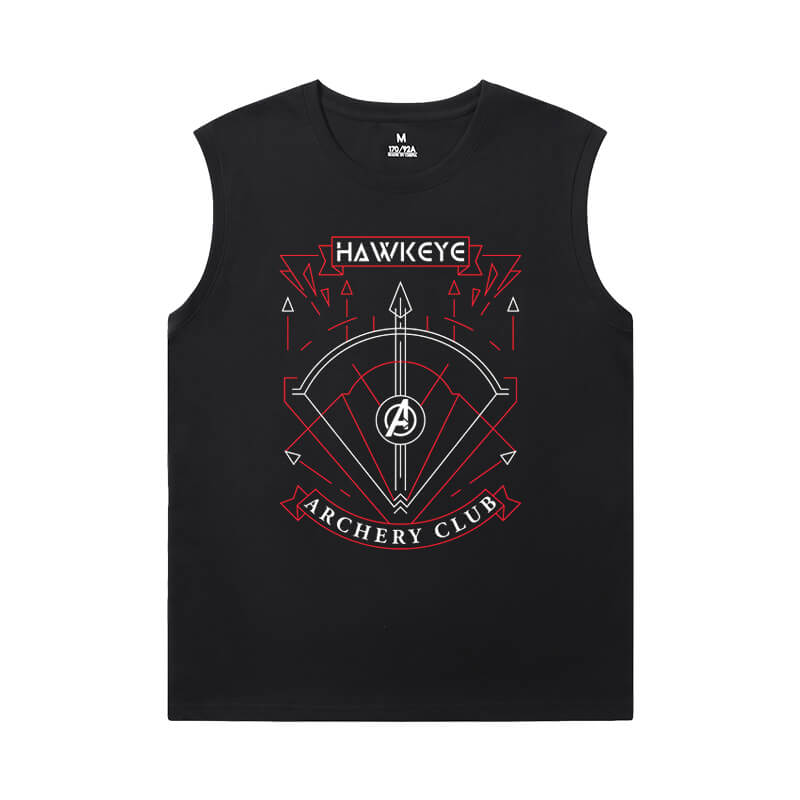 Marvel Hawkeye T-Shirt The Avengers Cool Sleeveless T Shirts