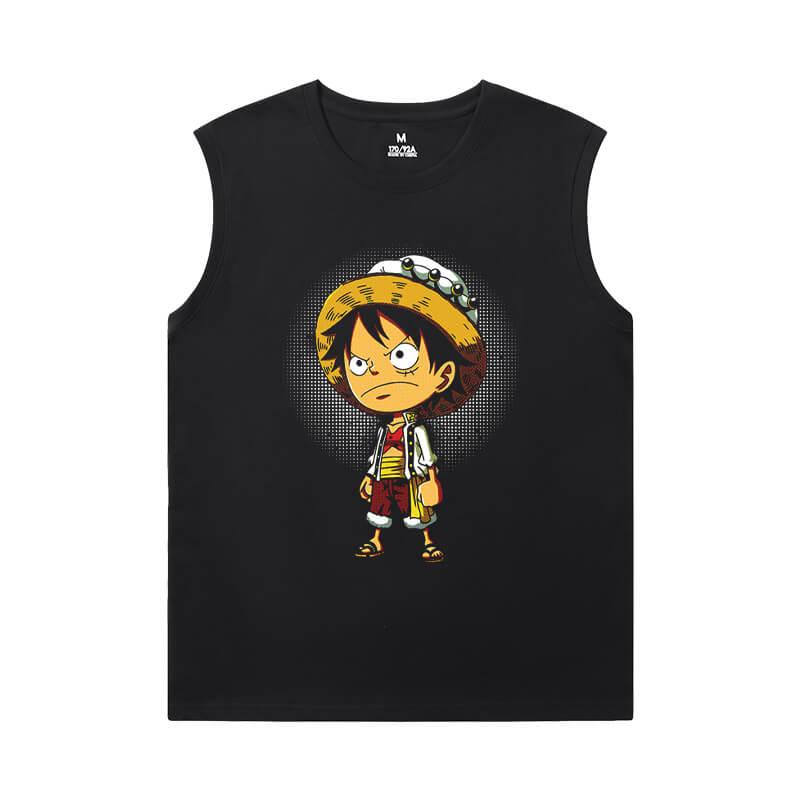 One Piece Tees Anime Quality Full Sleeveless T Shirt