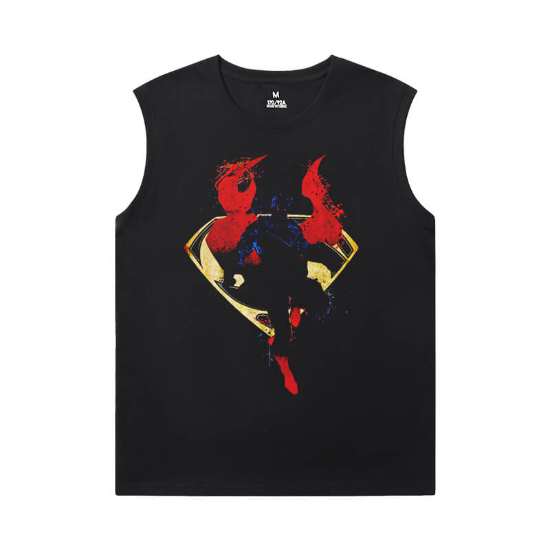 Superman T-Shirts Justice League Marvel Cool Sleeveless T Shirts