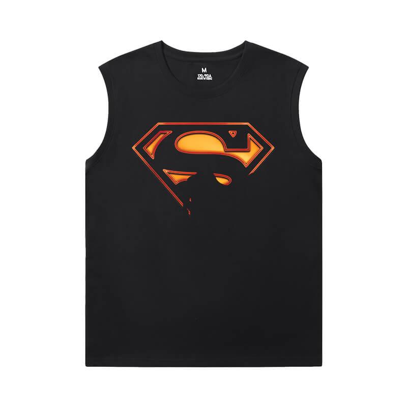 Marvel Shirts Justice League Superman Mens Sleeveless Tshirt