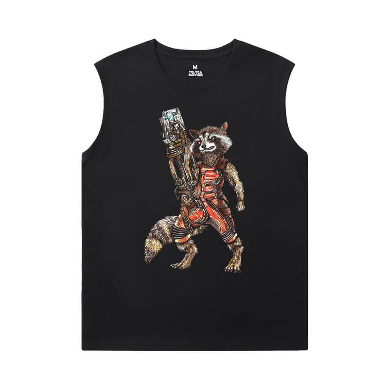 Guardians of the Galaxy Sleeveless Tshirt Marvel The Avengers Groot Tees